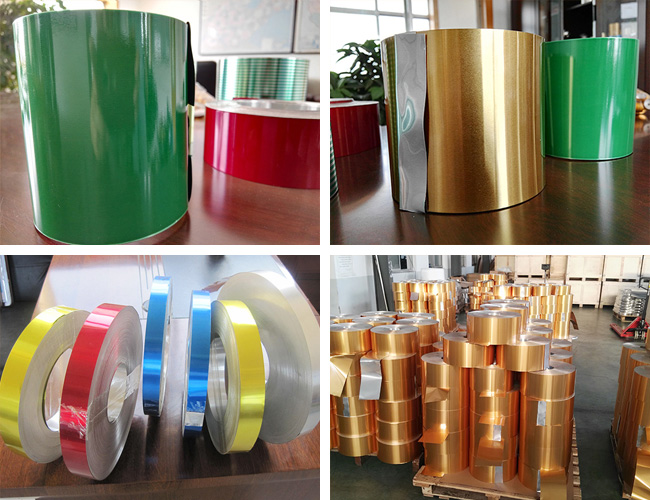 8011 alloy Aluminium strips for aluminum closure/cap